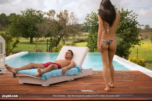 Joymii Carolina in The Towel Trick with Nick