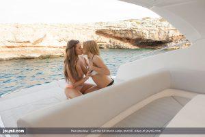 Joymii Carmen & Alysa in Sex on a Yacht 2
