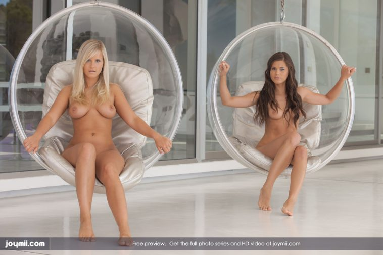 Joymii Miela & Caprice in Crazy Afternoon 1